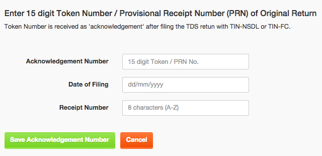 How to mark a TDS Return as 'Filed' on TaxCloud's TDS Software