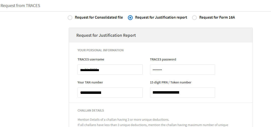 Download Justification Report To Reply To Tds Demand Notice