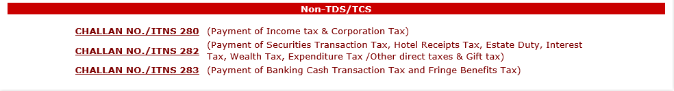 Non TDS/TCS