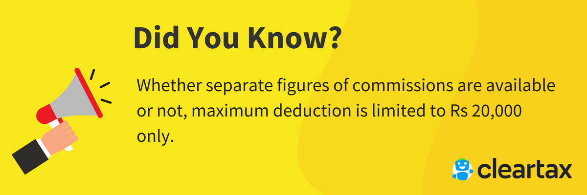 maximum deduction for insurance agents