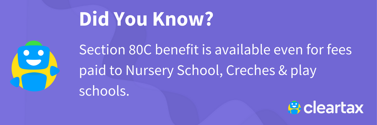 Tax Benefits on Children Education Allowance | Tuition and