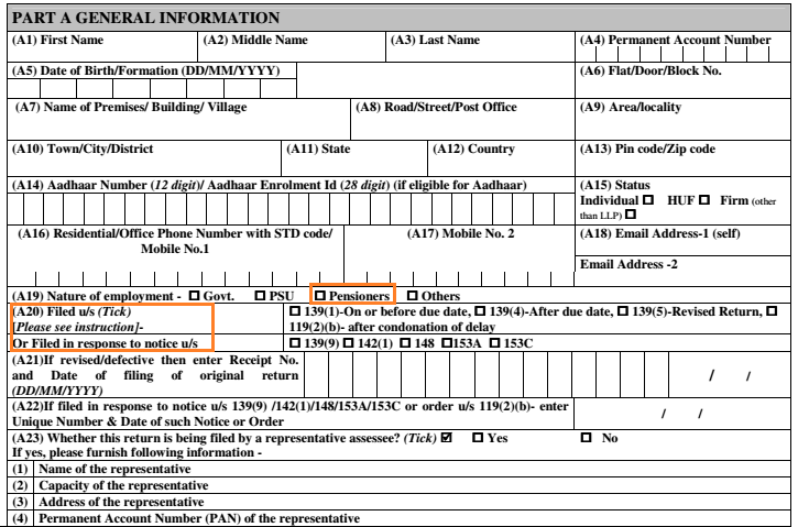 What is ITR4 Form? | How to fill ITR-4 Form?