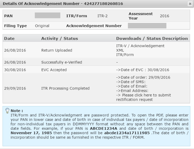 How to Download ITR - V Acknowledgement from the Income Tax