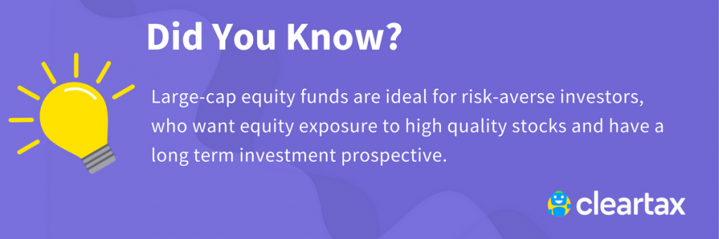 Large cap equity funds