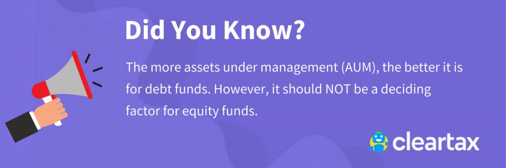 assets under management (AUM)