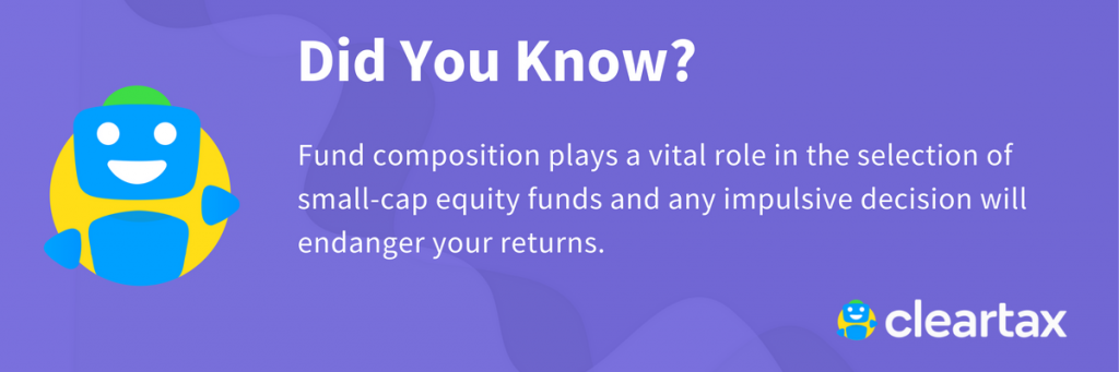 Fund composition