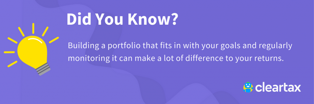 Build portfolio funds
