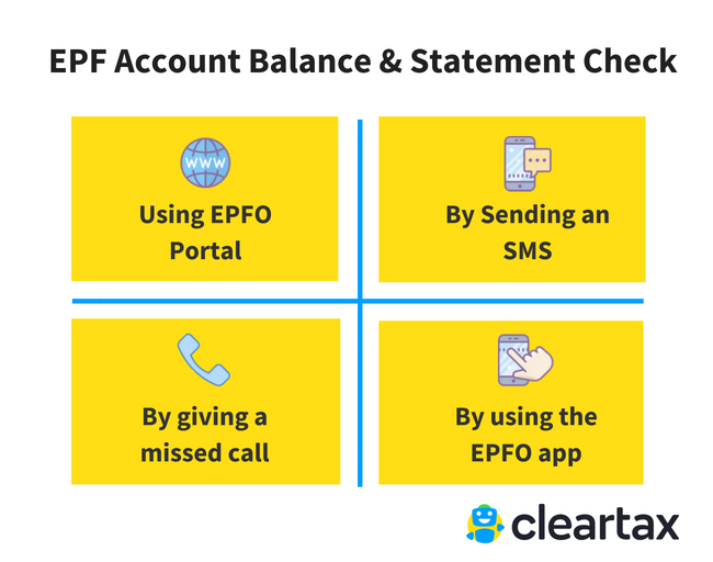 EPF Account balance check