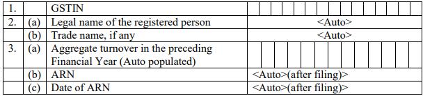 GSTR-4 Table 1-3