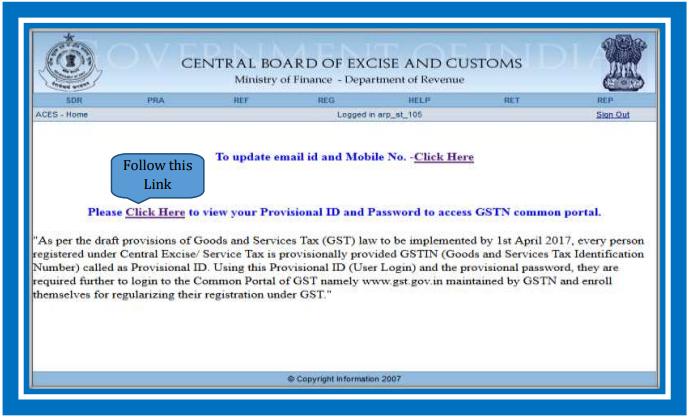 Enrollment for GST_ID