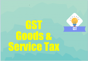 accounting entries GST