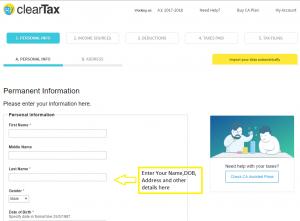 How to E-File ITR 1 (SAHAJ) with House Property Loan?