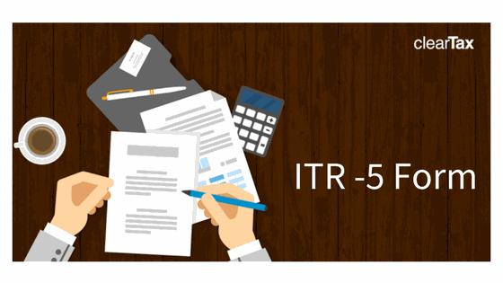 ITR -5 Form