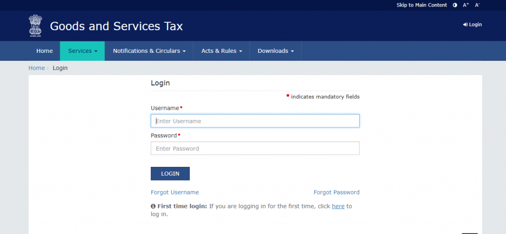 How to Pay GST Online