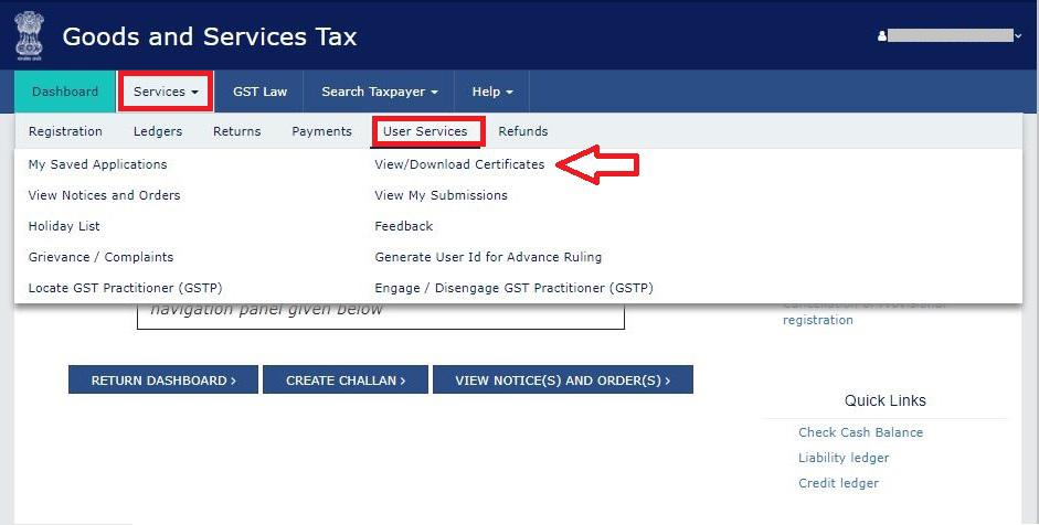 gst registration certificate download from gst gov in