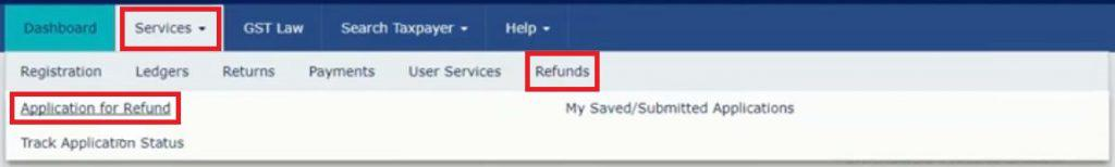 How to claim refund of excess GST paid?