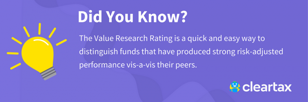 Value Research Rating