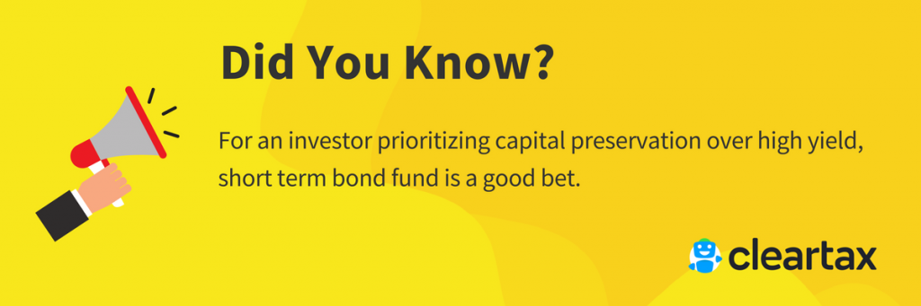 short term bond fund