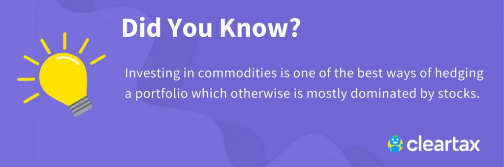 Investment in commodities