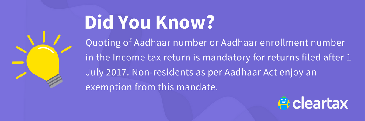 Linking of Aadhaar and PAN (Did-You-Know)