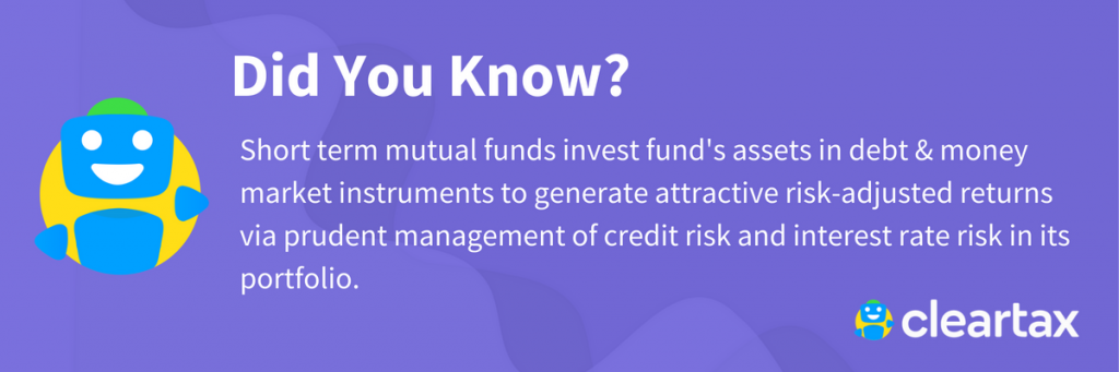 short term mutual fund