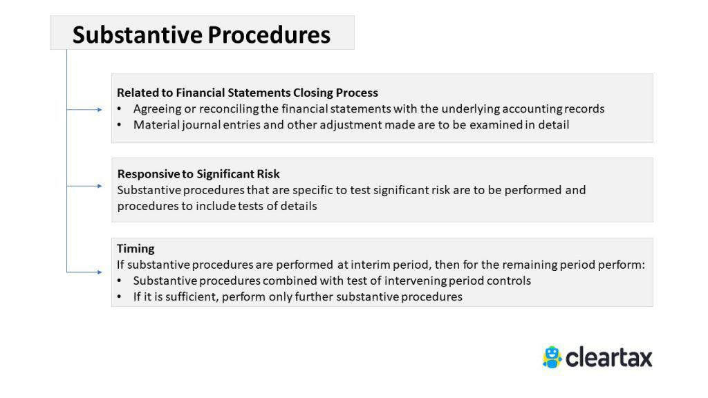 substantive Procedures