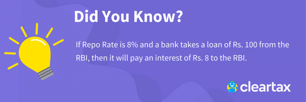 Repo Rate - Meaning, Reverse Repo Rate & Current Repo Rate