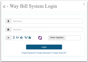 login eway bill