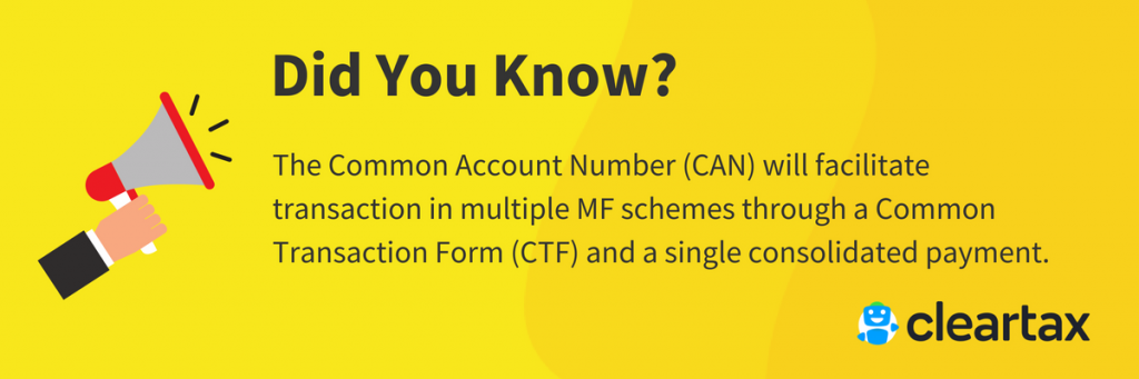 The Common Account Number (CAN)