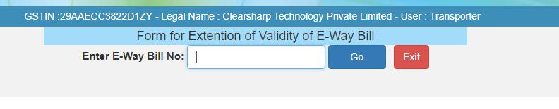 extend validity
