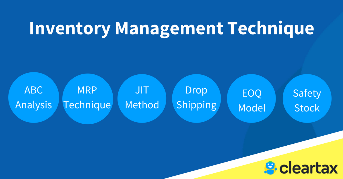 Inventory Management Technique