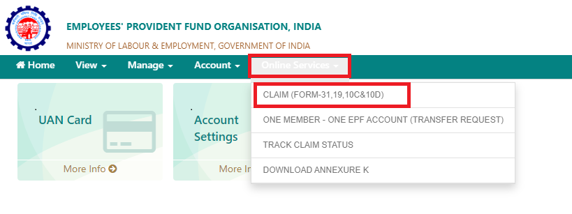 Form 10C Claim Step 3