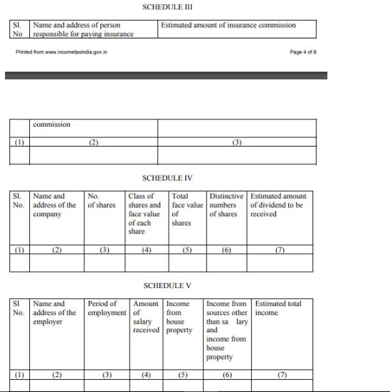 Form 13 - Non-Deduction / Lower Deduction of TDS under