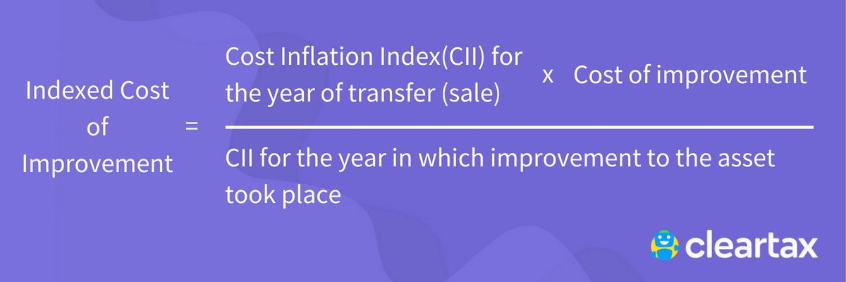 Indexed Cost of Improvement (1)