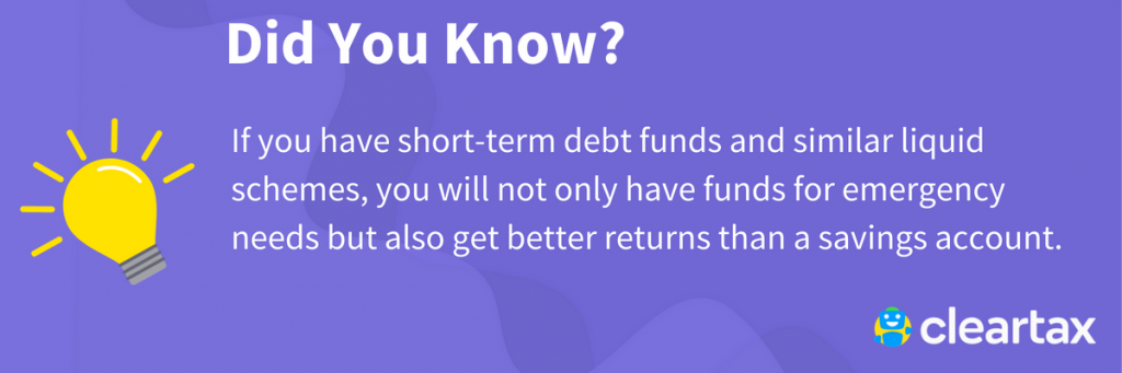 short-term debt funds