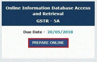 GSTR 5A