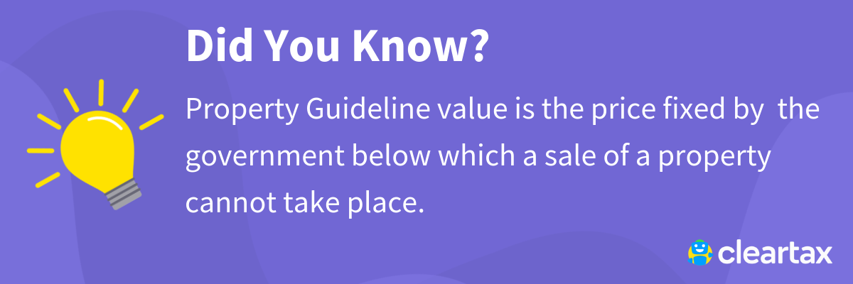 Property Guideline Value