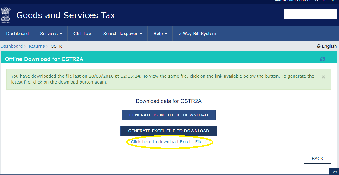 Guide to Download GSTR 2A in Excel