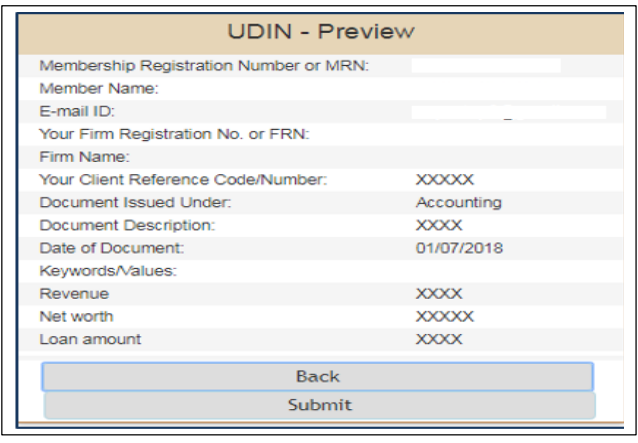 UDIN ( Unique Document Identification Number ) - Overview
