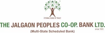 The Jalgaon Peopels Cooperative Bank  logo