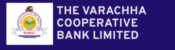 The Varachha Cooperative Bank  logo