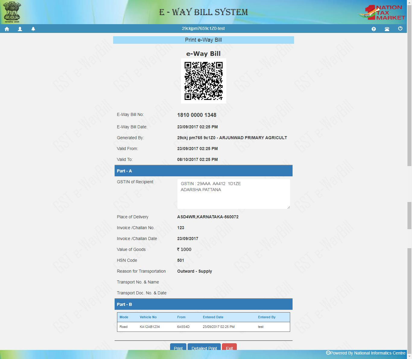 download waybill form