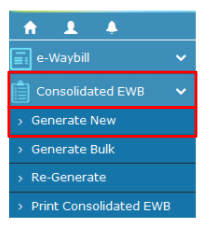 How to generate Consolidated Eway Bills on the E Way Bill portal?