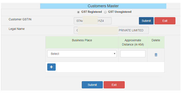How to manage masters under E- waybill system