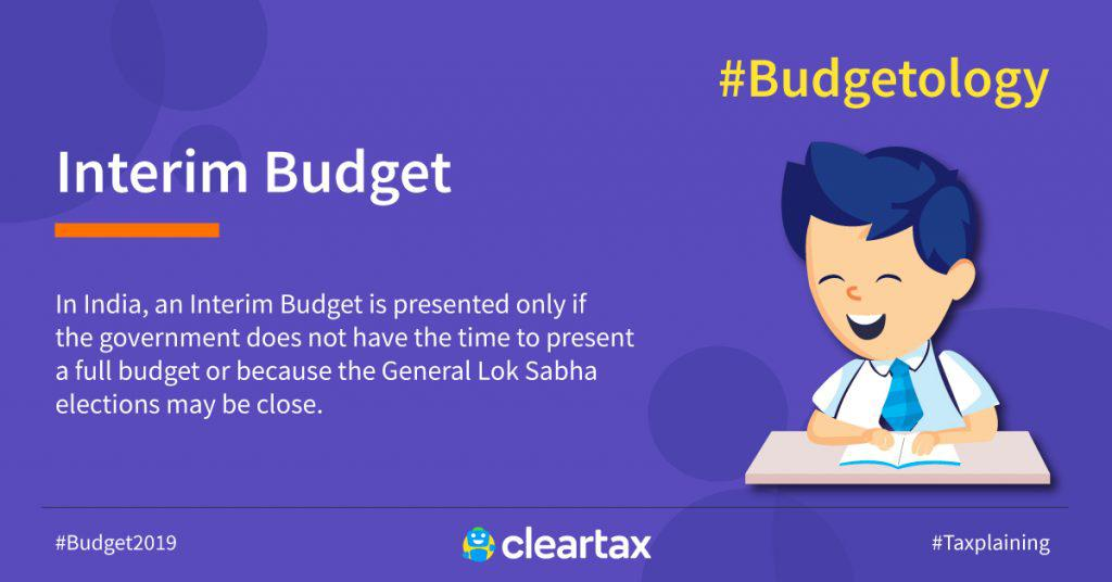 Interim-Budget