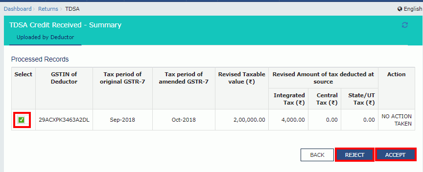 GST TDS and TCS