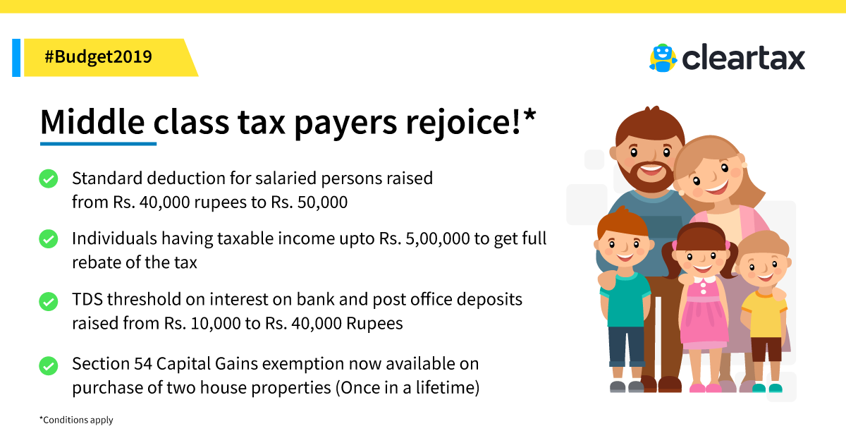 Standard Deductions for Salaried Individuals - Impacts on Income Tax
