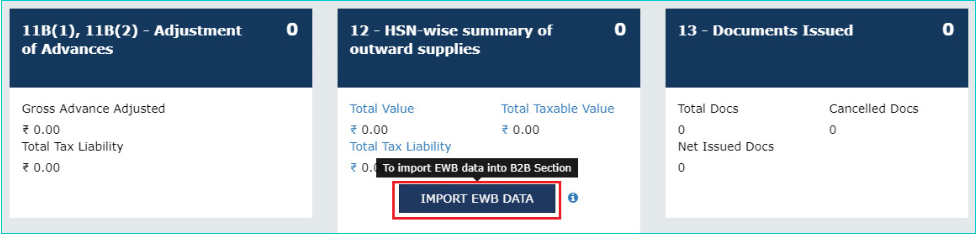 Import e-way bill data to GSTR-1: Step by step Guide