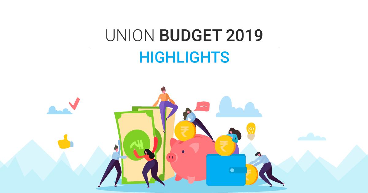 Union Budget 2019: Highlights, Key Takeaways, PDF Download