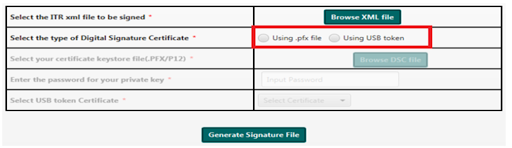 Use pfx file